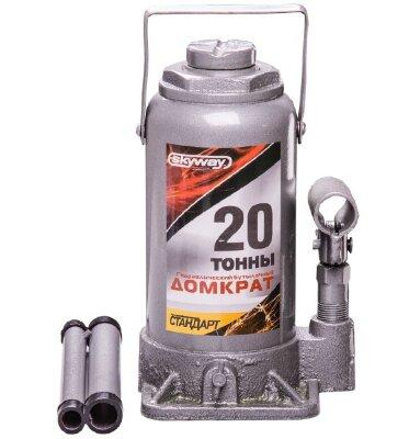 Домкрат гидравлический SKYWAY STANDART бутылочный  20T 225-425мм