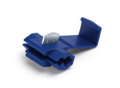 АХ-703 Зажим для врезки в провод (гильотина синий)