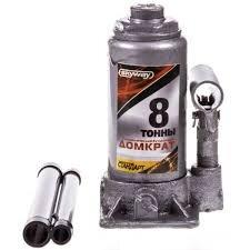 Домкрат гидравлический SKYWAY STANDART бутылочный  8T 185-370мм