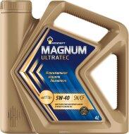 РОСНЕФТЬ Magnum Ultratec 10W-40 (4л) Масло моторное синтетическое