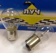 Лампа Луч A 12V (21w) BAU15s (1конт)(поворот, стоп-сигнал)СМЕЩЕННЫЙ ЦОКОЛЬ