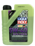 LIQUI MOLY Molygen New Generation 5W-40 (1л) Масло моторное синт. (9053)
