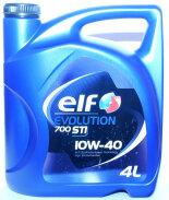 ELF Evol 700 STI 10W-40 (4л) Масло моторное полусинтетическое