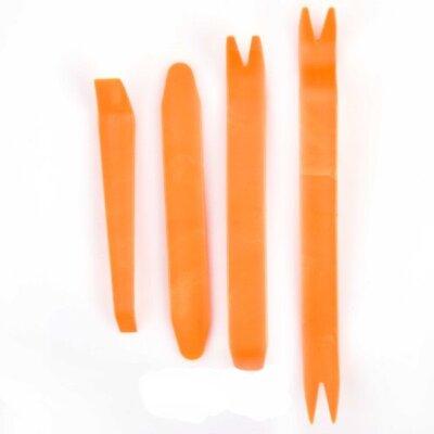 Набор инструментов для снятия  обшивки и клипс (4предм)