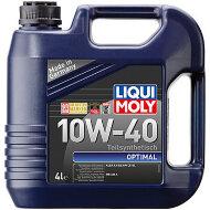 LIQUI MOLY Optimal 10W-40 (4л) Масло моторное полусинтетическое (3930)