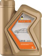 РОСНЕФТЬ Maximum 5W-40 (1л) SL/CF Масло моторное полусинтетическое