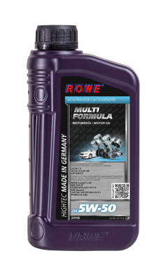 ROWE HIGHTEC MULTI FORMULA 5W-50 (1л) Масло моторное синтетическое