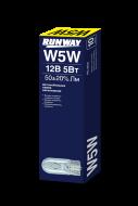 Лампа накаливания RW-W5W 12В 5Вт