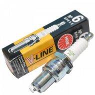 Свечи зажигания NGK BPR 5E V-Line 06 7281 аналог 7075 (Газ 406дв.)