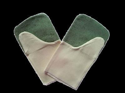 Рукавицы комбинированные брезентовые