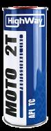 HighWay 2T API TC (1л) Моторное масло для 2х тактного двигателя полусинт.