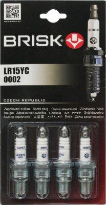 Свечи зажигания BRISK LR 15YC Super (ВАЗ 21103. 06. 05. 08-8 клап)
