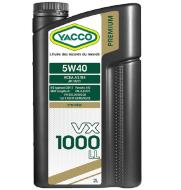 YACCO VX 1000 FAP 5W-40 (2л) Масло моторное