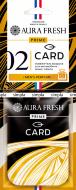 "Аром. AURA FRESH PRIME CARD 2 ""CALVIN KLEIN-CK ONE"" - картон"