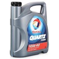 TOTAL Quartz 7000 10W-40 (4л) Масло моторное полусинтетическое